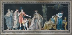 la vertu de lucrèce constance de corolian 2 works by jean françois janinet