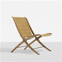x chair by orla molgaard-nielsen and peter hvidt