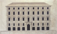 a design for a facade by paolo posi
