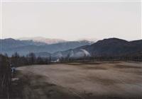 sonnenaufgang in den bergen bei kiso-fukushima japan by thomas struth