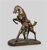 der pferdebändiger by louis de monard