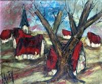 les toits rouges by henri d' anty