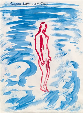 hermosa beach 26th street by raymond pettibon