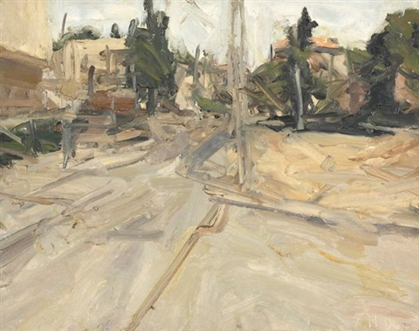 urban landscape by jordan wolfson