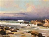 rocky shores by calvin liang