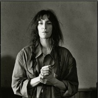 patti smith, new york by andrew catlin