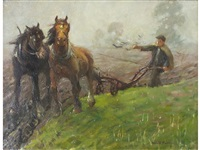 turning the plough by harold harvey