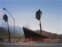 gas station, palm springs by robert polidori