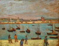 le port de camaret by henri gabriel ibels