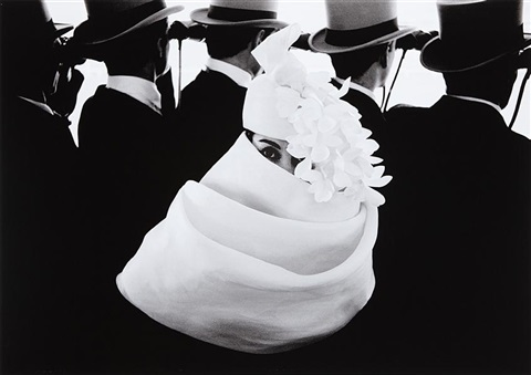 givenchy hat a, paris by frank horvat