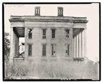 abandoned anti-bellum plantation house, vicksburg, mississippi (2 works) by walker evans
