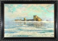 fortress near the river by v. reznikov