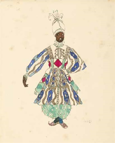 costume de théâtre by leon bakst