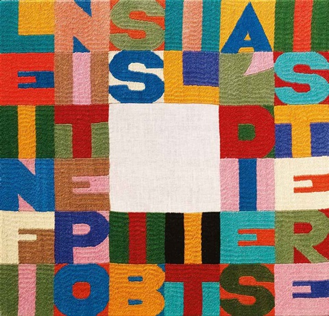 le infinite possibilità di esistere the infinite possibilities of existing by alighiero boetti