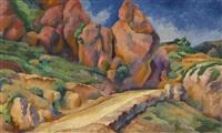 a road in gurzuf by ignati ignatevich nivinsky