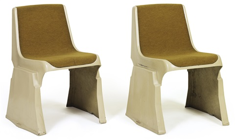 stapel-stühle (pair) by gunther domenig