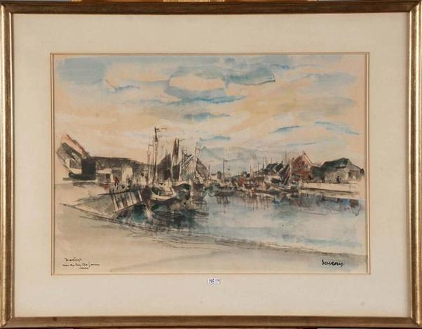port de pêche animé by albert saverys