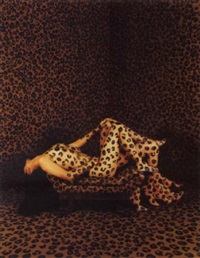 leopard print room by julie an