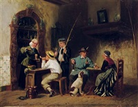 a thirsty moment by sipke (cornelis) kool