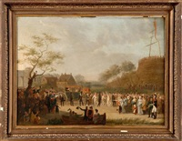 joyeuse entrée de willem ier à gand en 1829 by constantinus-fidelio coene