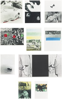hegel's cellar (portfolio of 13) by john baldessari