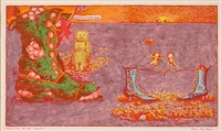 there was an old woman (for i saw a ship-a-sailing) by benito (beni) montresor