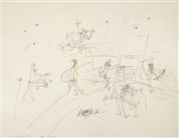 to the house in god of federica by roberto matta