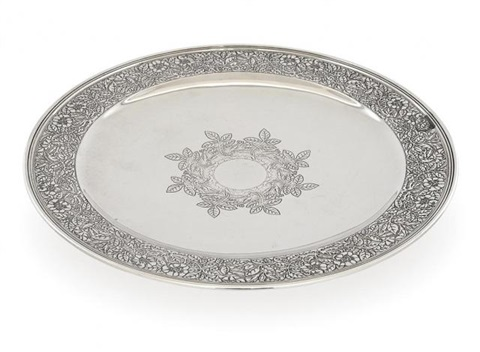 tiffany \u0026 co. sterling silver footed cake plate by tiffany ...  sc 1 st  Artnet & Tiffany Co. Sterling Silver Footed Cake Plate by Tiffany \u0026 Co. on artnet