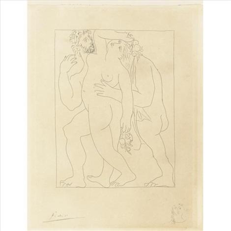 Vertumne Poursuit Pomone De Son Amour By Pablo Picasso On Artnet
