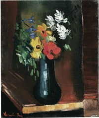 bouquet by maurice de vlaminck