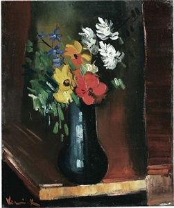 artwork by maurice de vlaminck