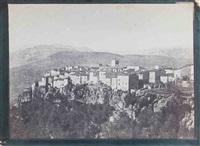 village perché, dans le sud-est de la france, saint-cézaire sur siagne by charles nègre