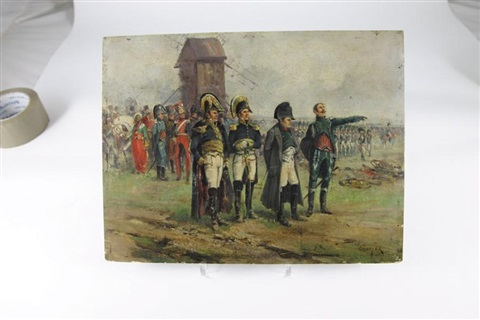 napoléon et son etat major by emile chepfer