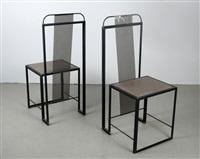 viereckstühle 101 (pair) by anderl kammermeier
