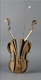 violon à venise by arman