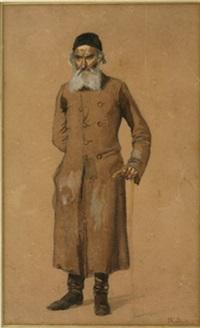 russen jew by mikhail petrovich (baron) klodt von jurgensburg