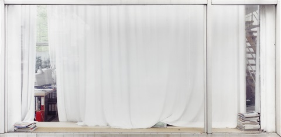 White Curtain Iiweißer Vorhang Ii By Sabine Hornig On Artnet