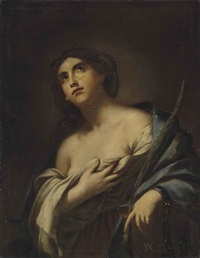 saint agatha by andrea vaccaro