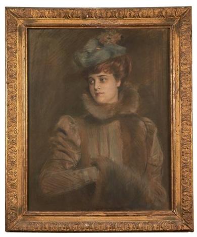 portrait de madame chéruit by paul césar helleu