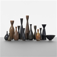 collection of fourteen vessels (14 works) by carl-harry stålhane