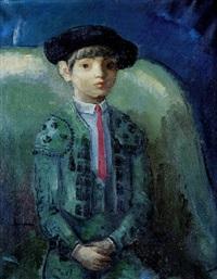 niño vestido de torero by fernando rivero