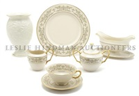 dinner service (noblesse pattern; 55 pieces) by lenox