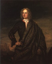 portrait of andrew macpherson of cluny by richard waitt