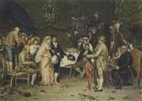 festa agli sposi by g. de biasi