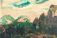 gunung mesigit (mount mesigit) by s. sudjojono