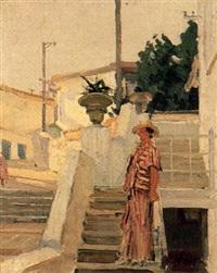 dans l'escalier by nicolai babasiouk