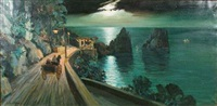 night along the riviera by carlo ciappa