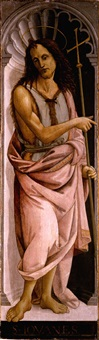 saint john the baptist by bartolomeo di giovanni