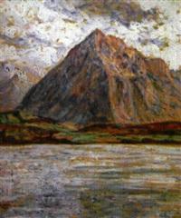 lac de thun by georgette agutte