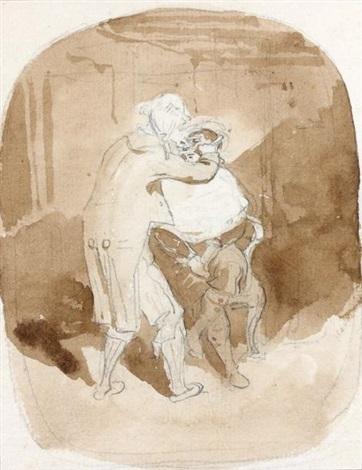 le barbier anglais by théodore géricault